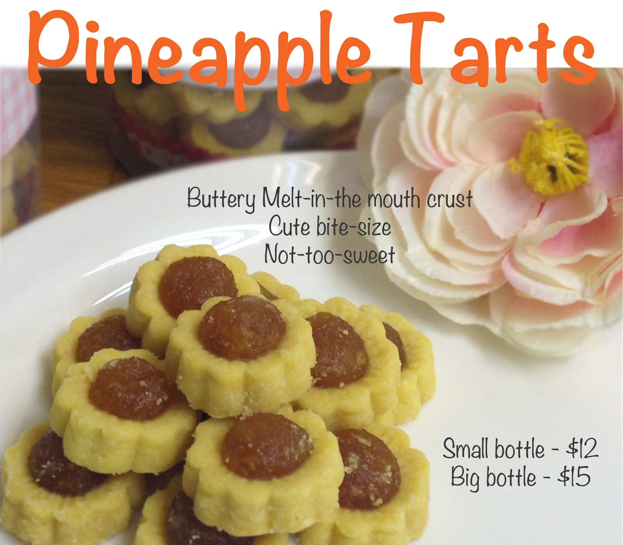 Pineapple Tarts for the Lunar New Year! | Happy Cake Studio