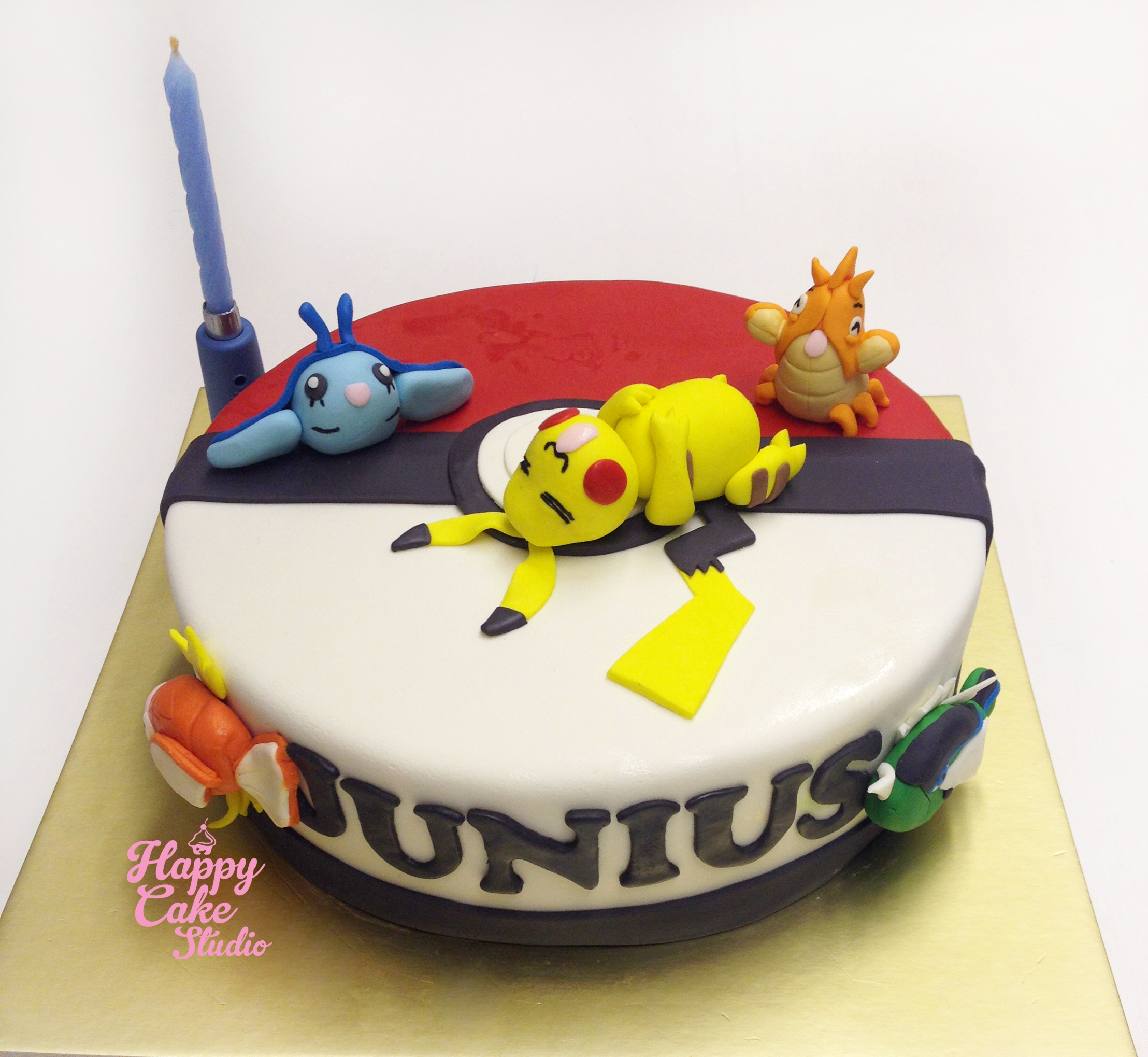 Pin Pokemon Pickachu Jigglypuff Birthday Cake Cake on ...